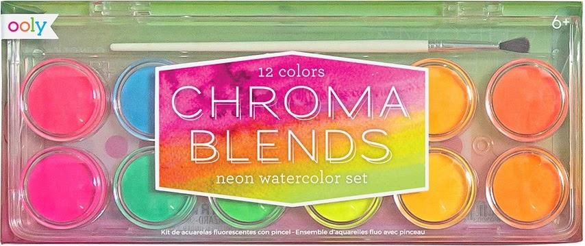 Chroma Blends Neon Watercolor Set-2