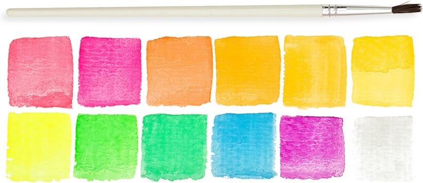 Chroma Blends Neon Watercolor Set-4
