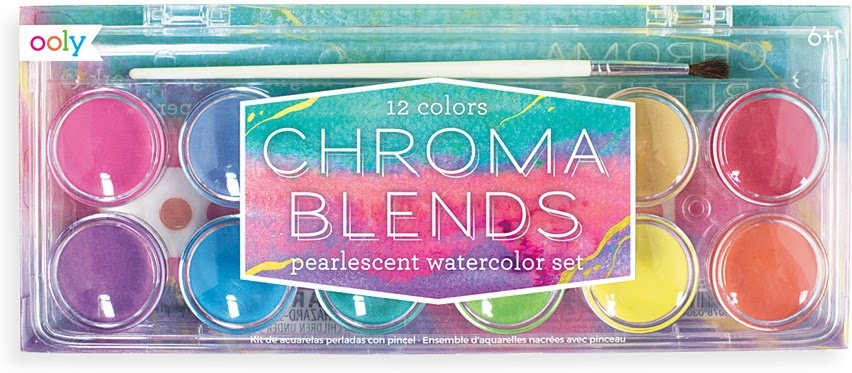 Chroma Blends Pearlescent Watercolor Set-2