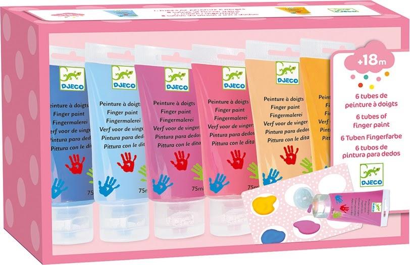 6 Tubes Finger Paint - Sweet-1