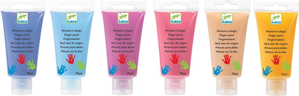 6 Tubes Finger Paint - Sweet-3