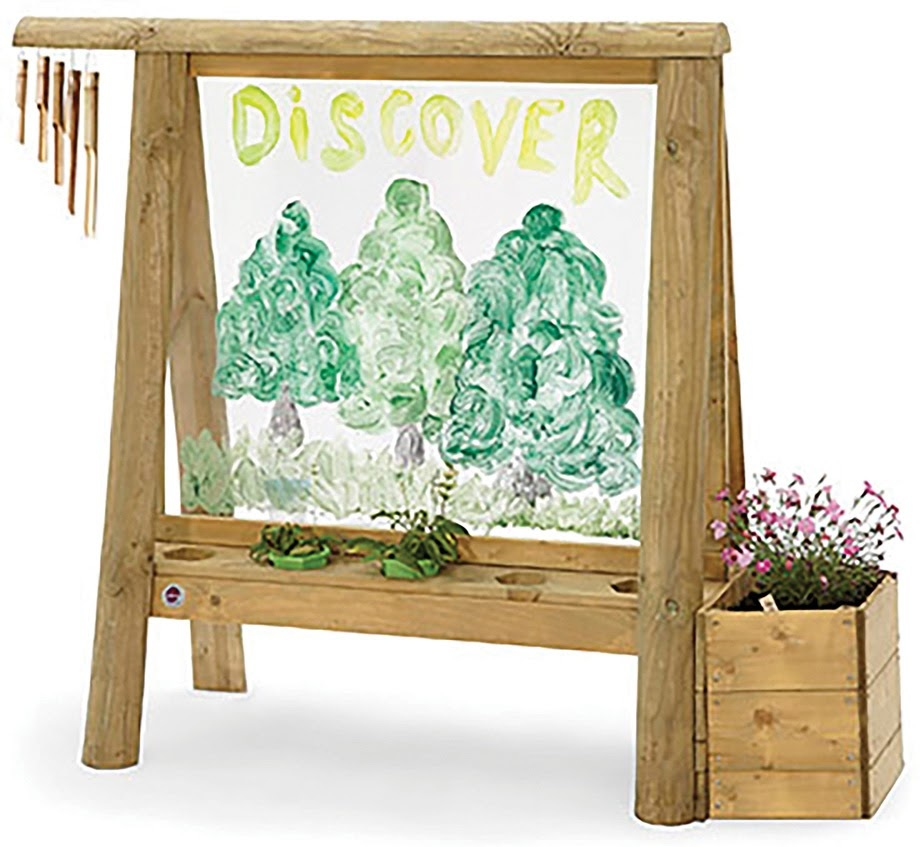 Plum Discovery Create & Play Easel-1