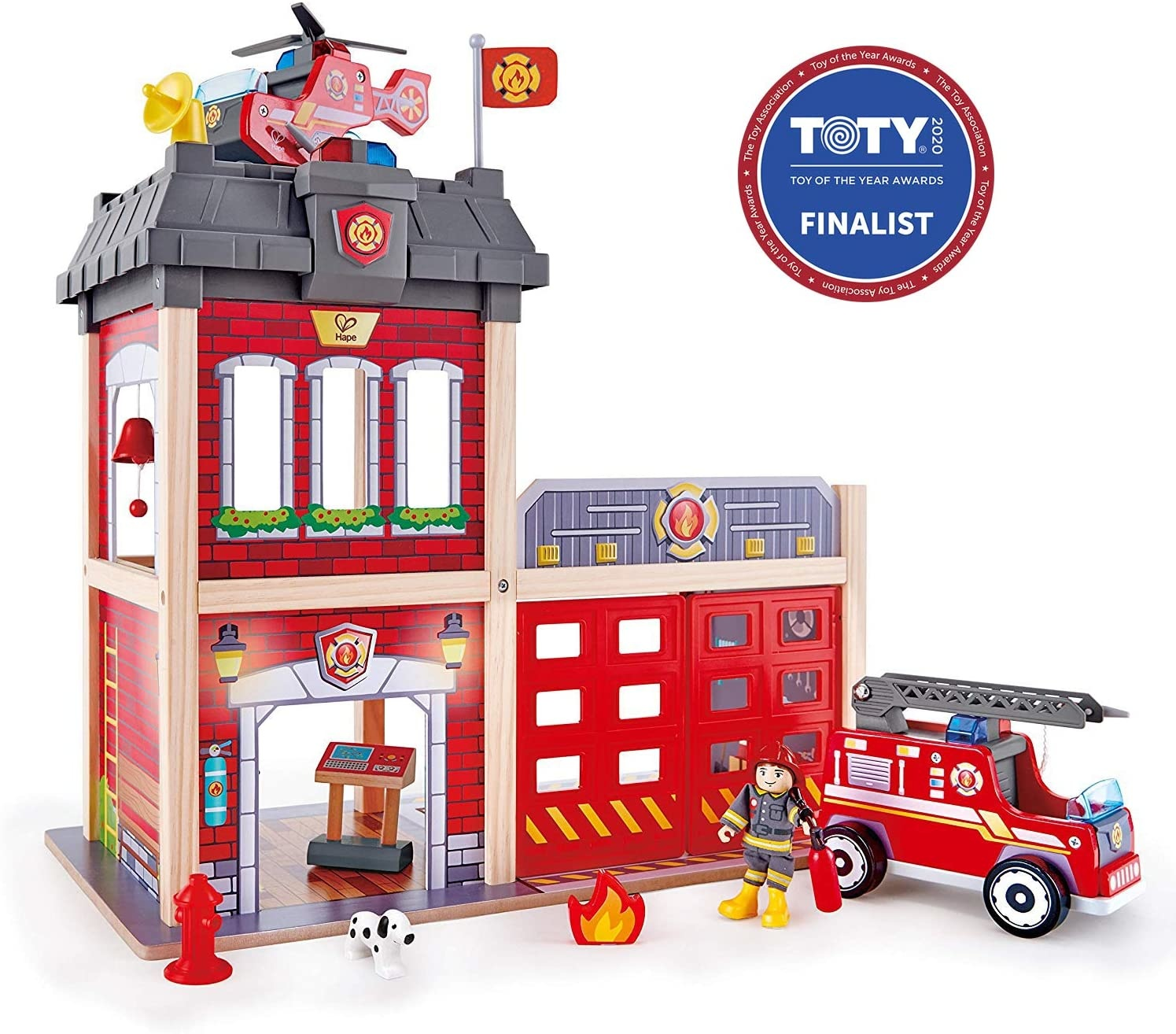 Hape Fire Station-1