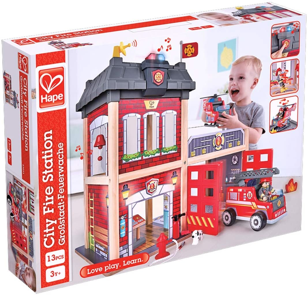 Hape Fire Station-6