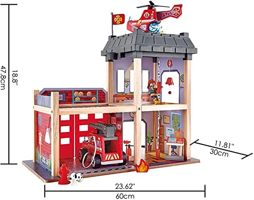 Hape Fire Station-5