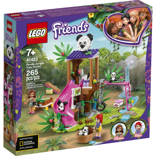 LEGO Friends Panda Jungle Tree House-1