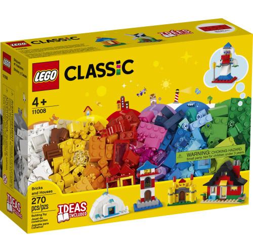 Lego Classic Bricks and Houses-1