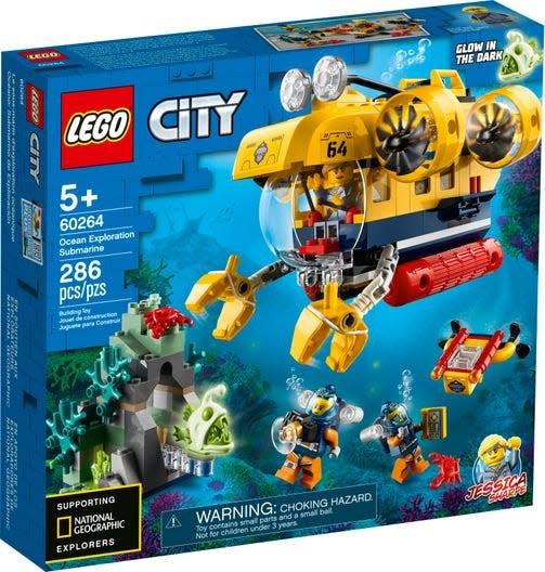 LEGO City Ocean Exploration Submarine-1