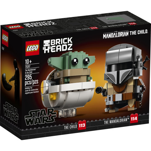 Lego Brickheadz The Mandalorian and The Child-1
