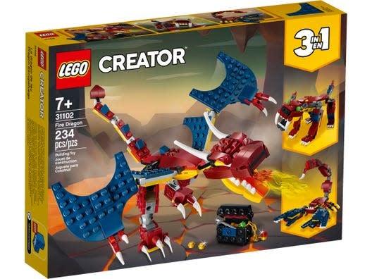 Lego Creator Fire Dragon-1