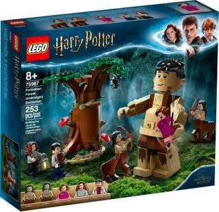 Lego Harry Potter Forbidden Forest Umbridge's Encounter-1