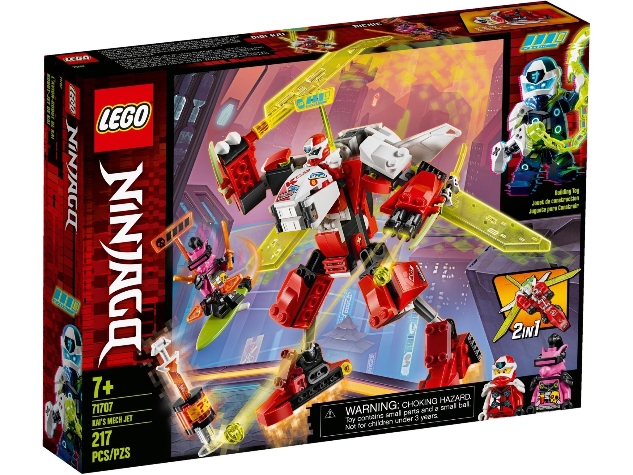 Lego Ninjago Kai's Mech Jet-1