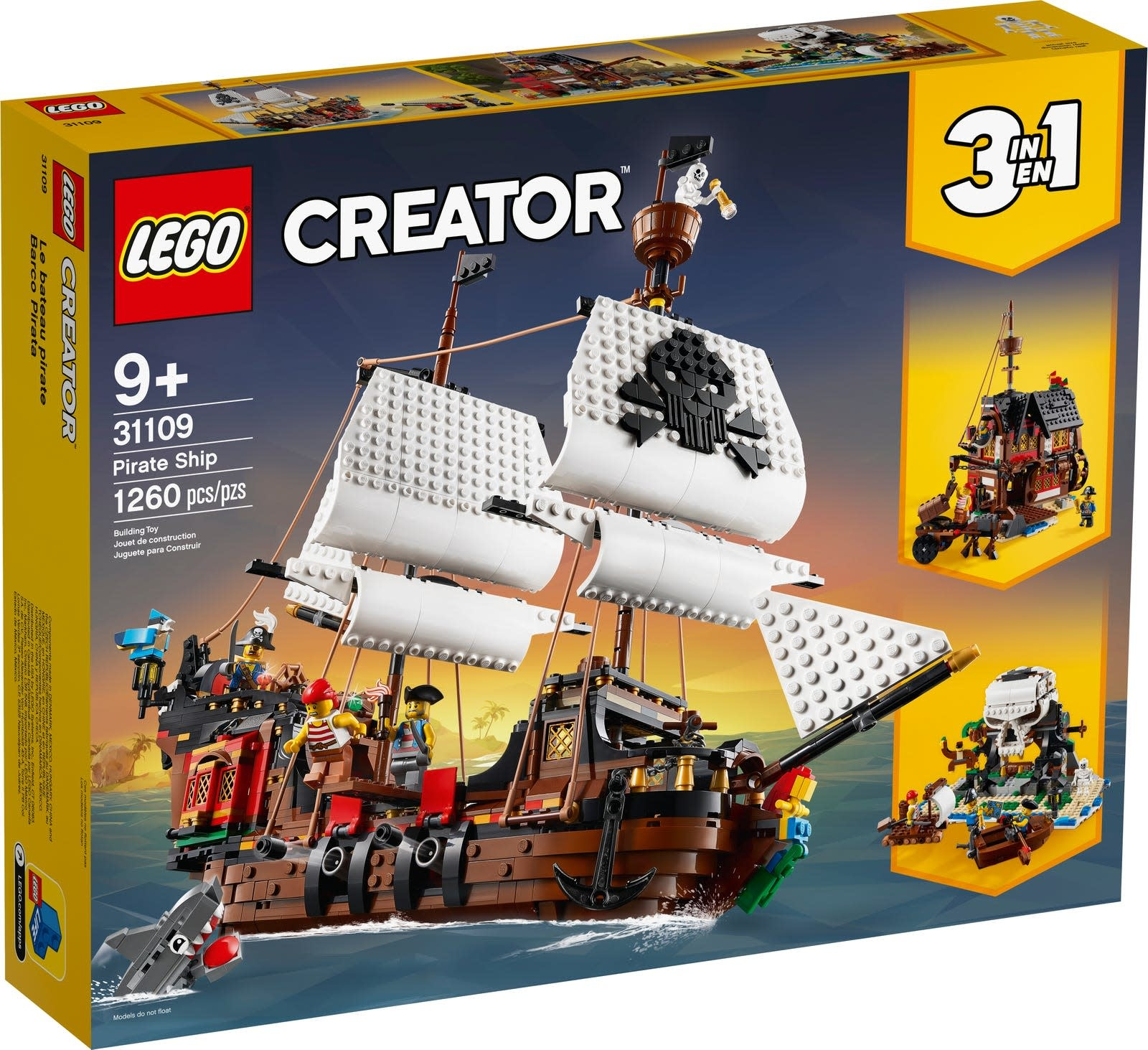 LEGO Creator Pirate Ship-1
