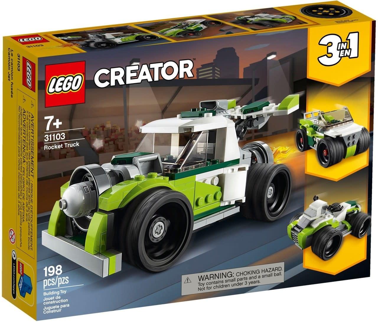 Lego Creator Rocket Truck-1