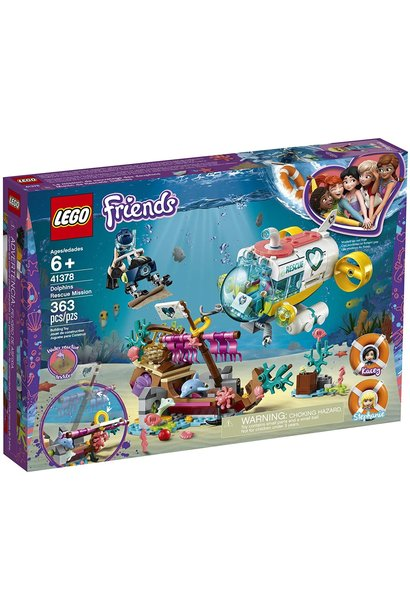 Lego Friends Dolphins Rescue Misson