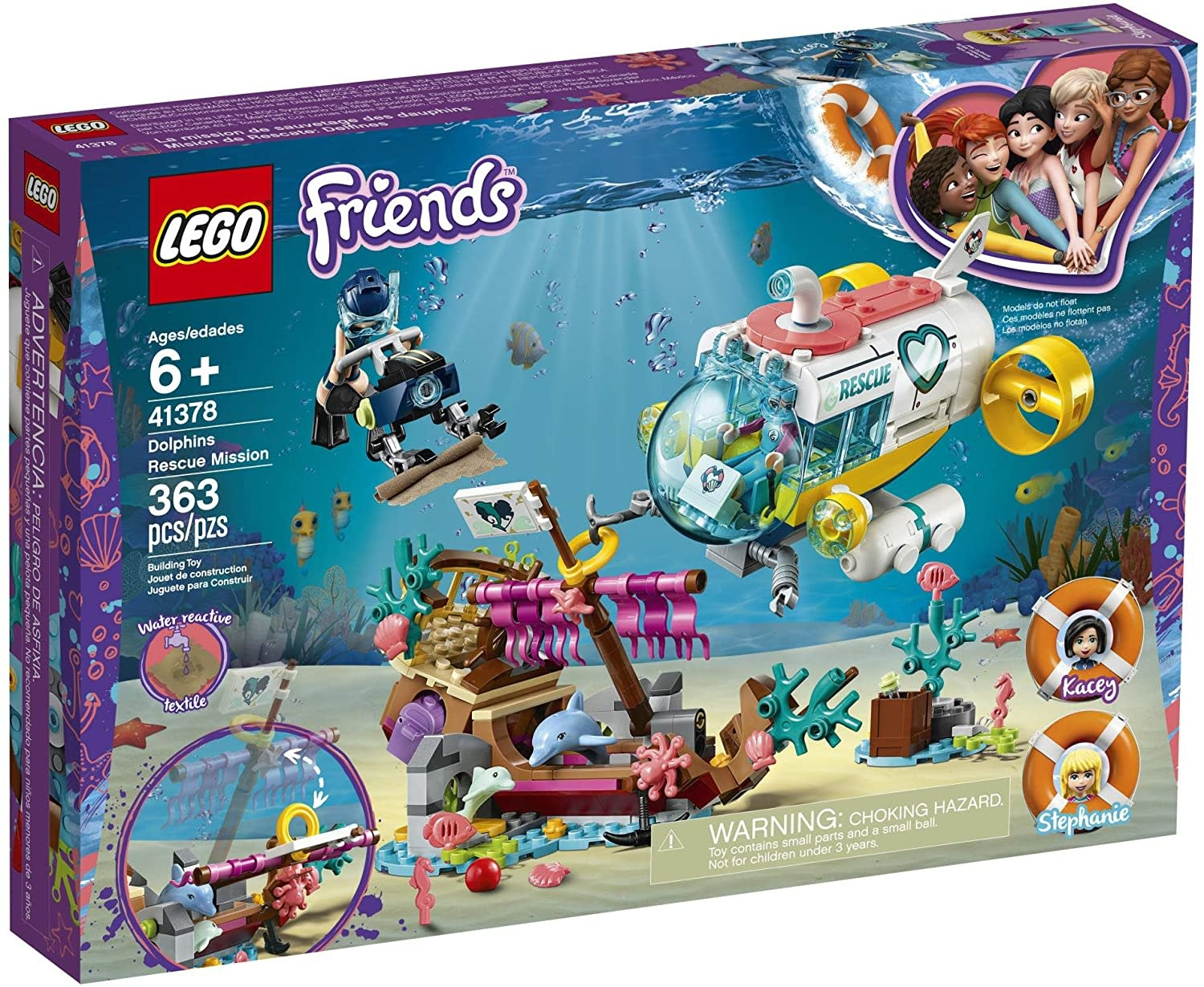 Lego Friends Dolphins Rescue Misson-1