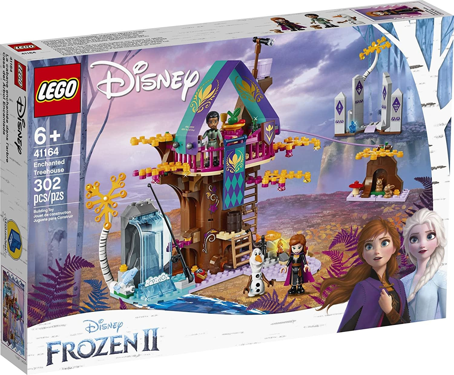 Lego Disney Frozen II Enchanted Treehouse-1