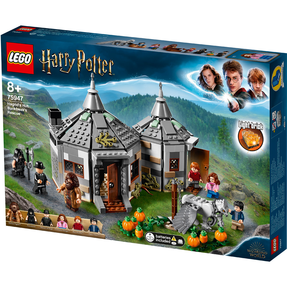 Lego Harry Potter Hagrid's Hut-1