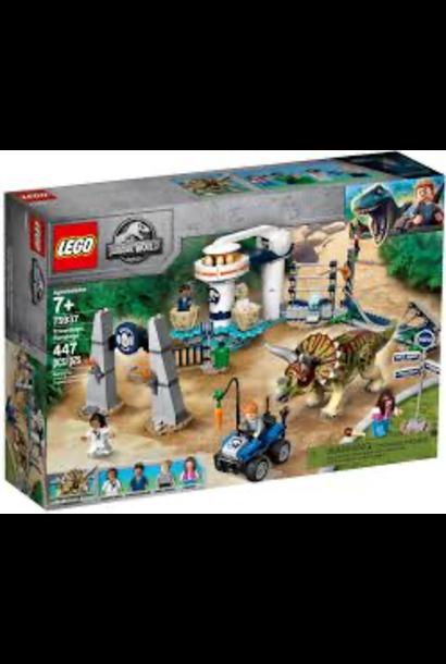 Lego Jurassic World Triceratops Rampage