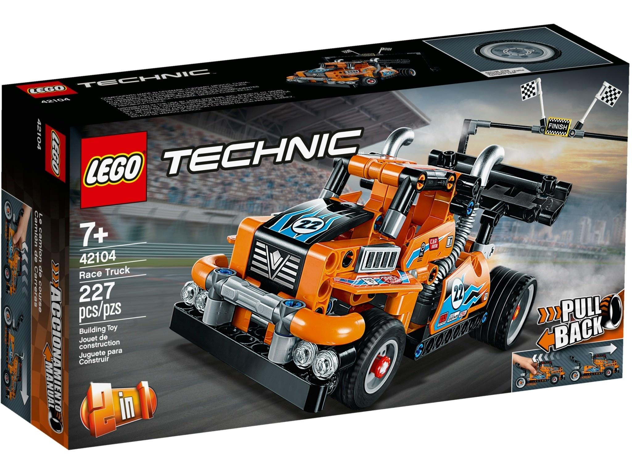 Lego Technic Race Truck-1