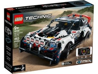 Lego Technic Top Gear Rally Car-1