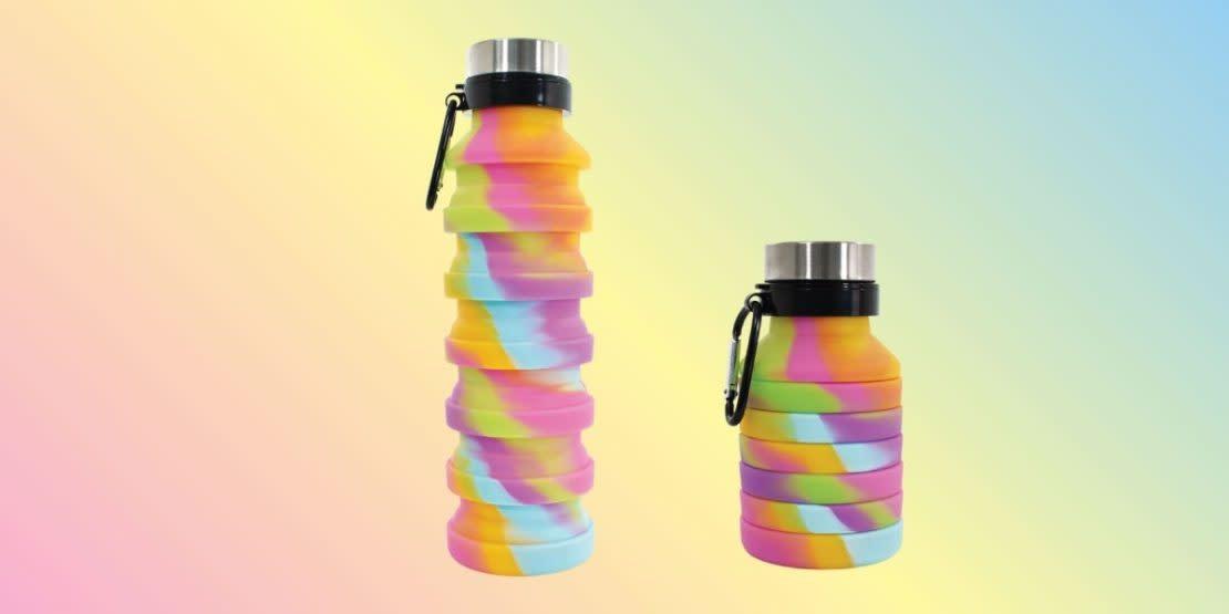 Collapsible Water Bottle Tie Dye-1
