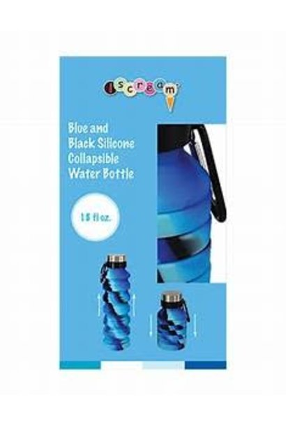 Collapsible Water Bottle Bl/Blk
