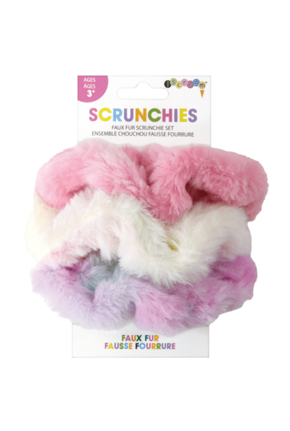 Scrunchie Set Faux Fur