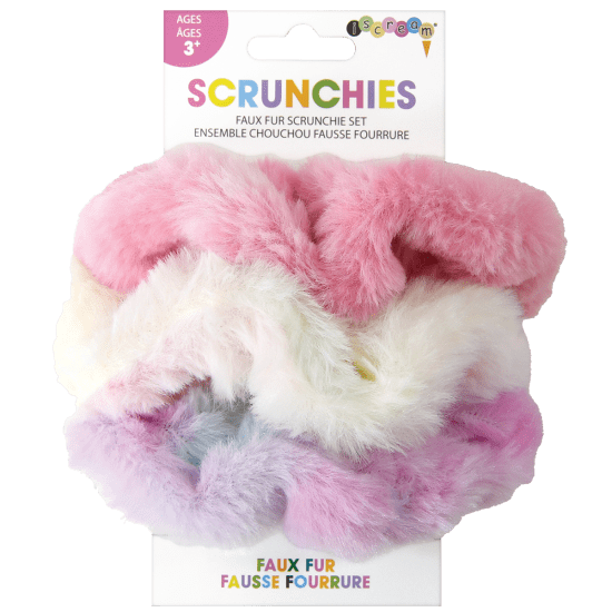 Scrunchie Set Faux Fur-1