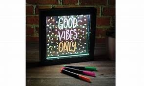 Light Up Neon Effect Message Frame-3