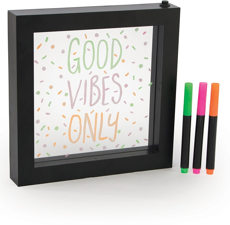 Light Up Neon Effect Message Frame-2
