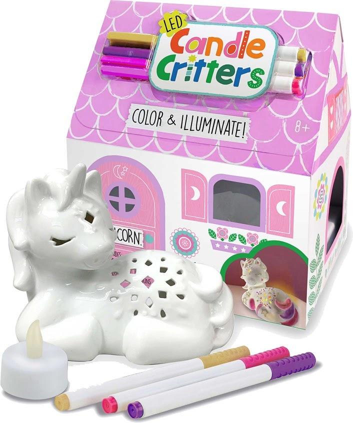 LED Candle Critters Unicorn-1