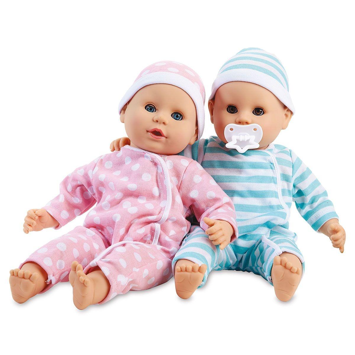 Mine to Love Twin Dolls Luke & Lucy-4