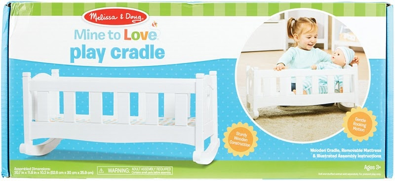 Mine to Love Doll Cradle M&D-3
