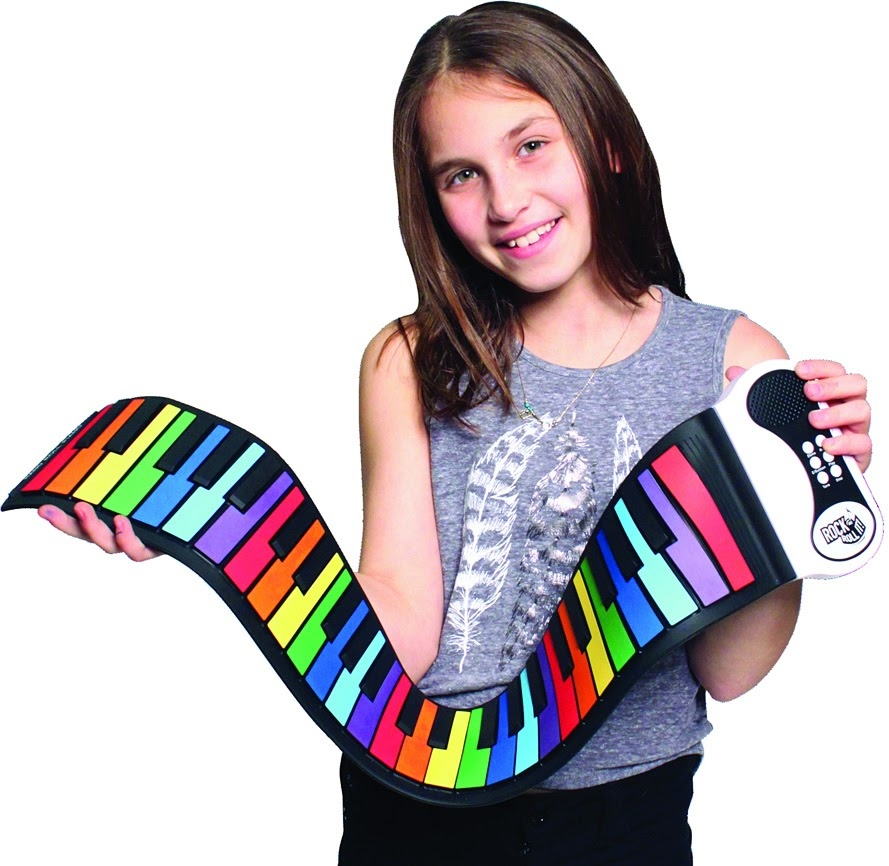 Rock N' Roll It! Rainbow Piano-1