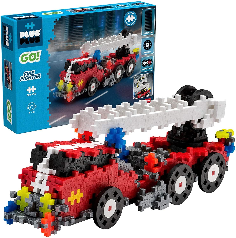 Plus Plus Go! Fire Truck-2