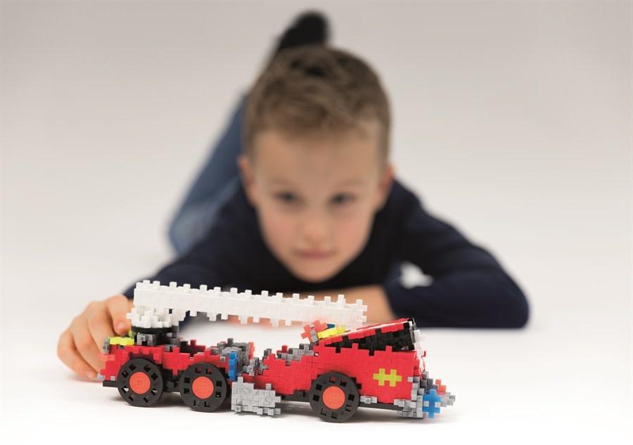 Plus Plus Go! Fire Truck-3