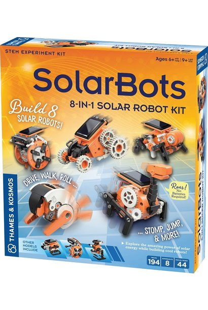 Solar Bots 8 in 1 Solar Robot Kit