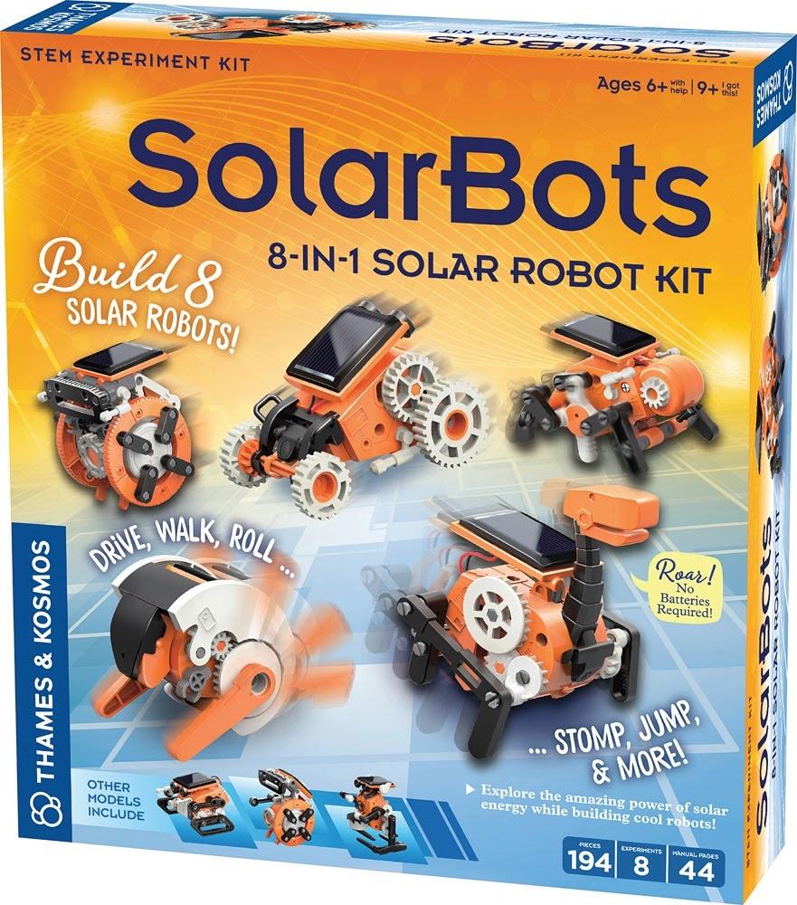 Solar Bots 8 in 1 Solar Robot Kit-1