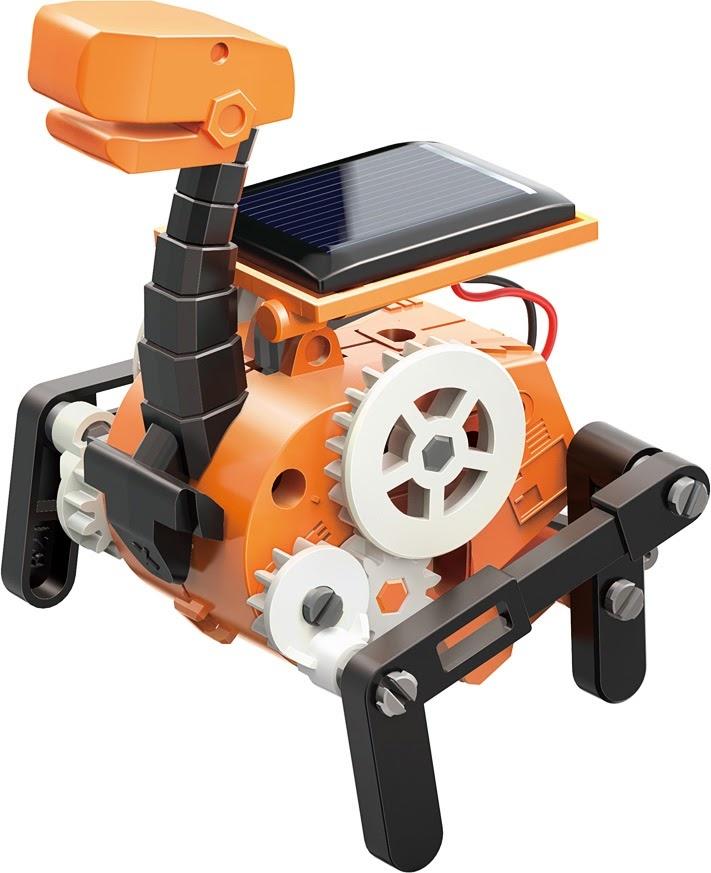 Solar Bots 8 in 1 Solar Robot Kit-3