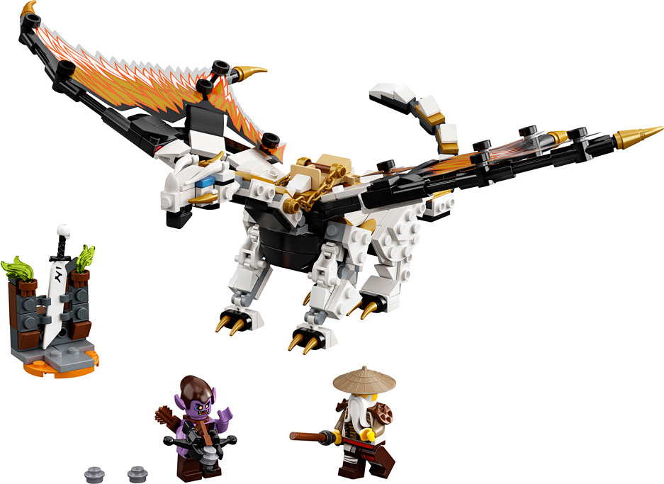 LEGO Ninjago Wu's Battle Dragon-2
