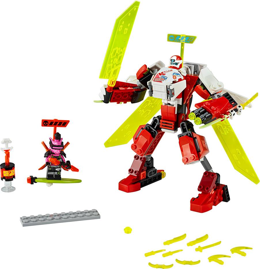 Lego Ninjago Kai's Mech Jet-3