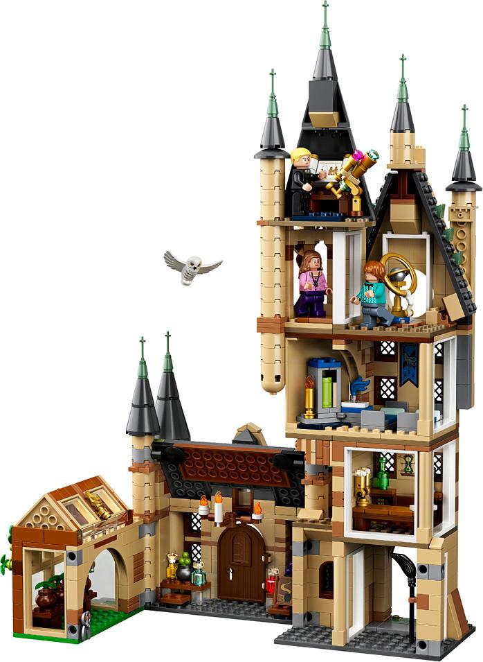 LEGO Harry Potter Hogwarts Astronomy Tower-3