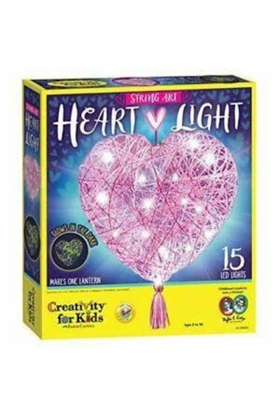Kit/String Art Heart Light