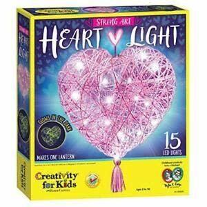 Kit/String Art Heart Light-1