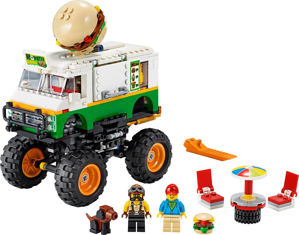 Lego Creator Monster Burger Truck-2