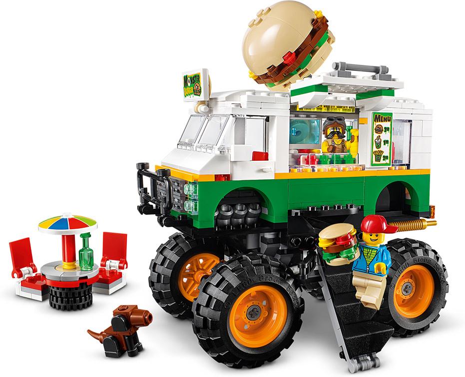 Lego Creator Monster Burger Truck-3
