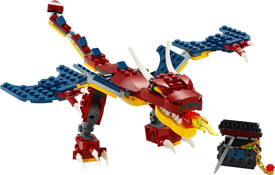 Lego Creator Fire Dragon-2