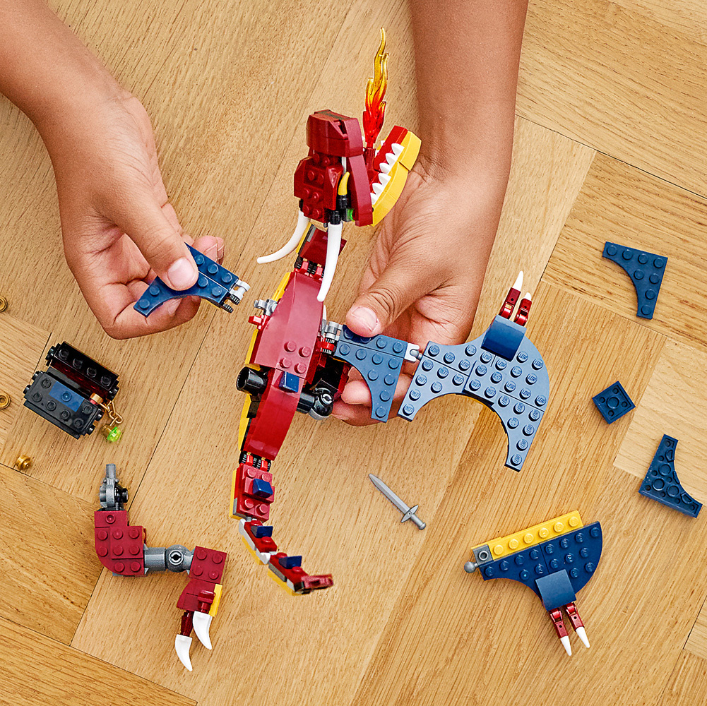 Lego Creator Fire Dragon-3