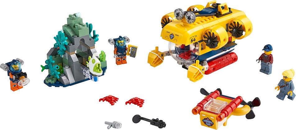 LEGO City Ocean Exploration Submarine-3
